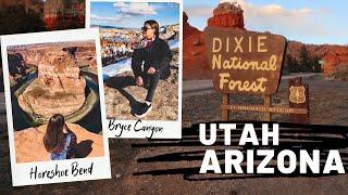ПУТЕШЕСТВИЕ ПО США: ПОДКОВА | ARIZONA | PAGE | HORSESHOE BEND | UTAH | БРАЙС КАНЬОН | BRYCE CANYON / Видео