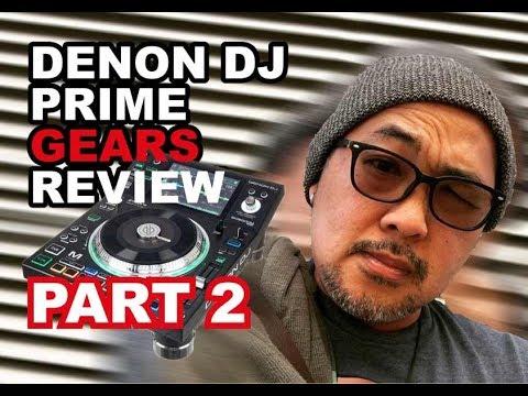 Denon DJ Prime Series Review  part2 + Quick mix test