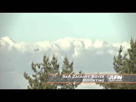 B-52 makes history over Latvia