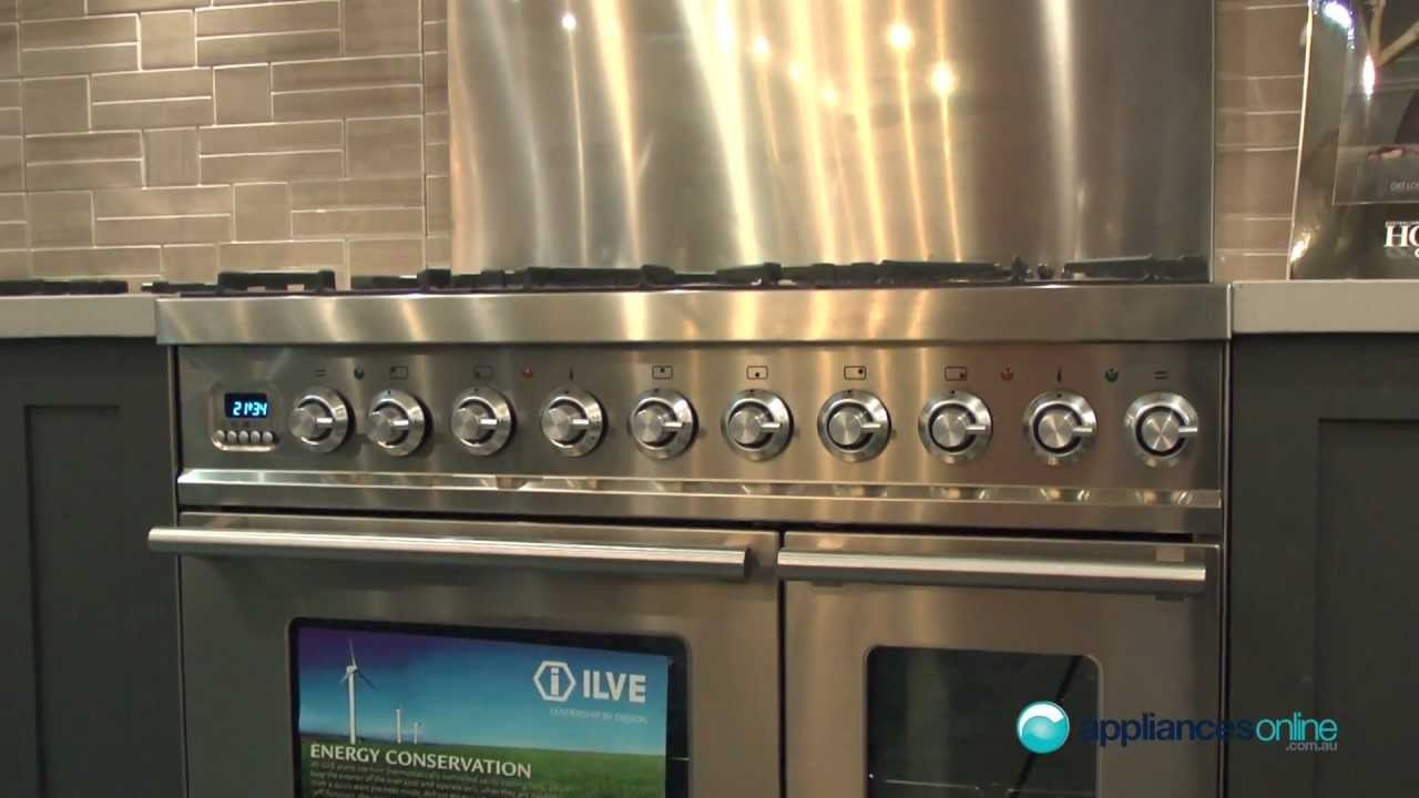 Gas Kitchen Appliances Ilve Built In Range Of Electric And Gas Ovens For The Modern