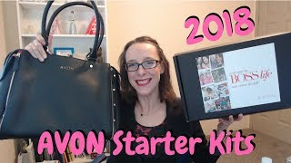 What's in the Avon Starter Kits 2018?