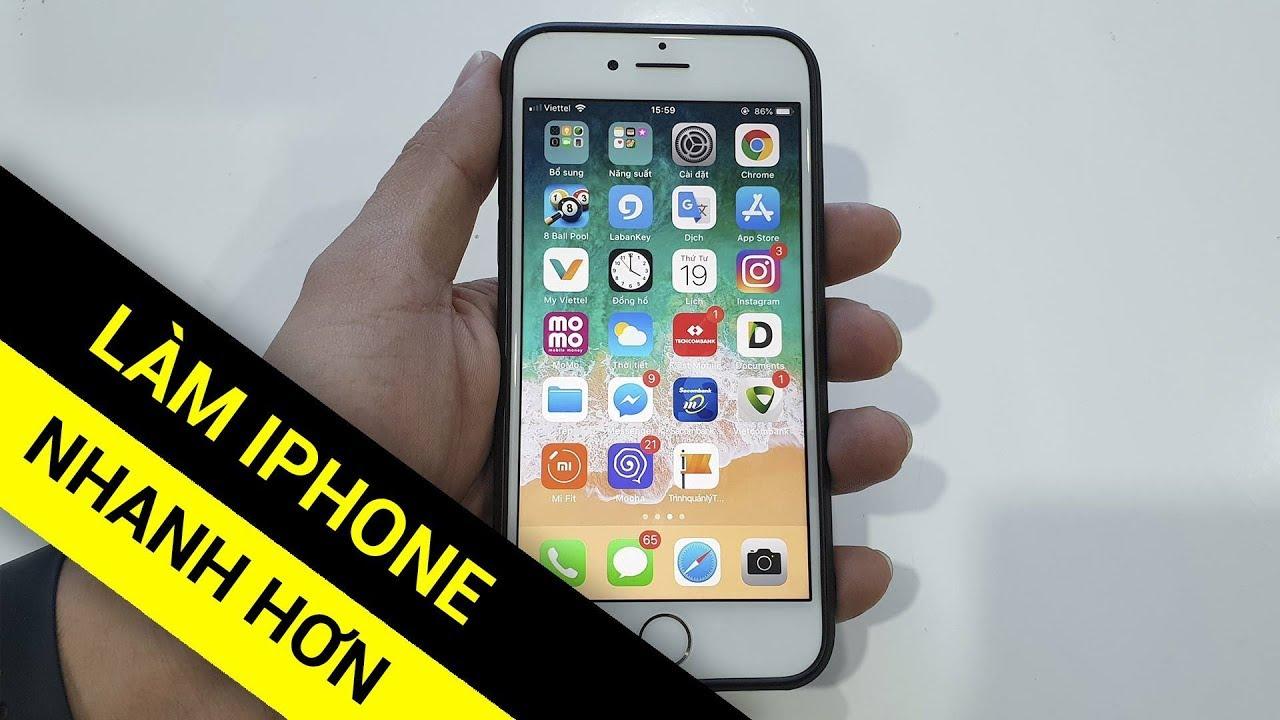 10 mẹo tăng tốc cho iPhone sử dụng lâu ngày bạn nên biết