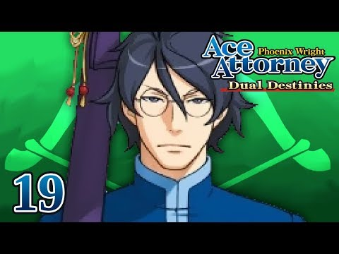 GENIUS LEVEL - Let's Play - Phoenix Wright: Ace Attorney: Dual Destinies - 19 - Playthrough