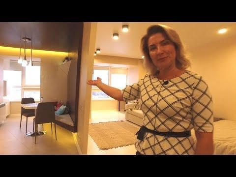 Дизайнерская квартира для холостяка | 45 метров красоты и комфорта в Кирове