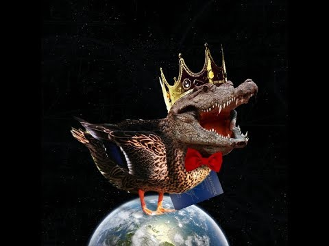 King Crocoduck & I have a chat on Evolution & Intelligent Design ( A Christian Atheist discussion )