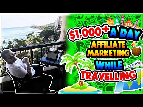 $1,000+ Per DAY with Affiliate Marketing!