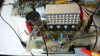 Motoransteuerung mittels H-Brücke - Eigenentwicklung - 80A - 4kW