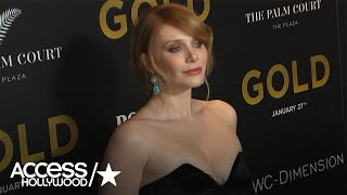 Bryce Dallas Howard On 'Gold's' Funky '80s Costumes | Access Hollywood