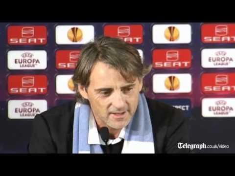 Roberto Mancini denies mistreating Carlos Tevez