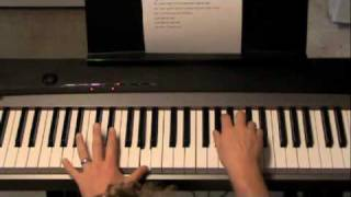 How To Play Need You Now by Lady Antebellum Piano Tutorial