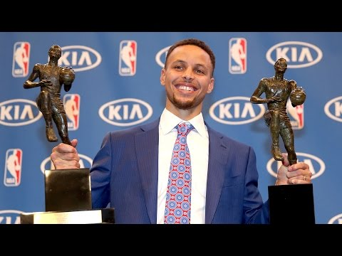 Stephen Curry First Unanimous MVP Vote