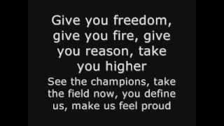 k´naan wavin´flag fifa world cup south africa 2010 official theme song lyrics