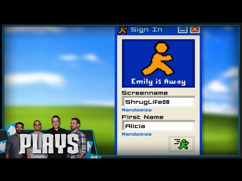 The Best Game About Instant Messaging Ever - Kinda Funny Plays Emily Is Away