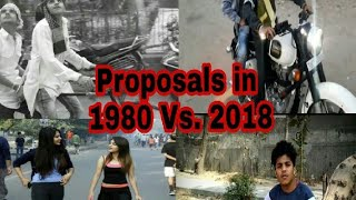 Proposals in 1980 Vs. 2018