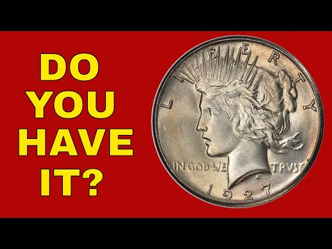 Silver Dollars To Look For! Peace Dollar You Should Know About!