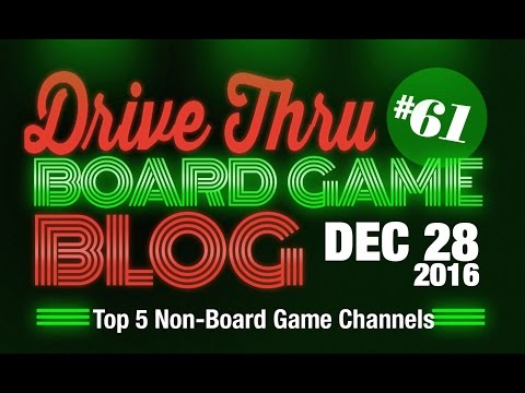 Top 5 Non-Board Game Channels