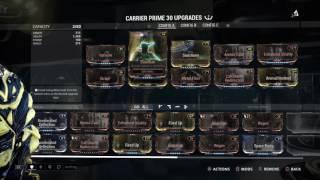 warframe builds carriercarrier prime revisit