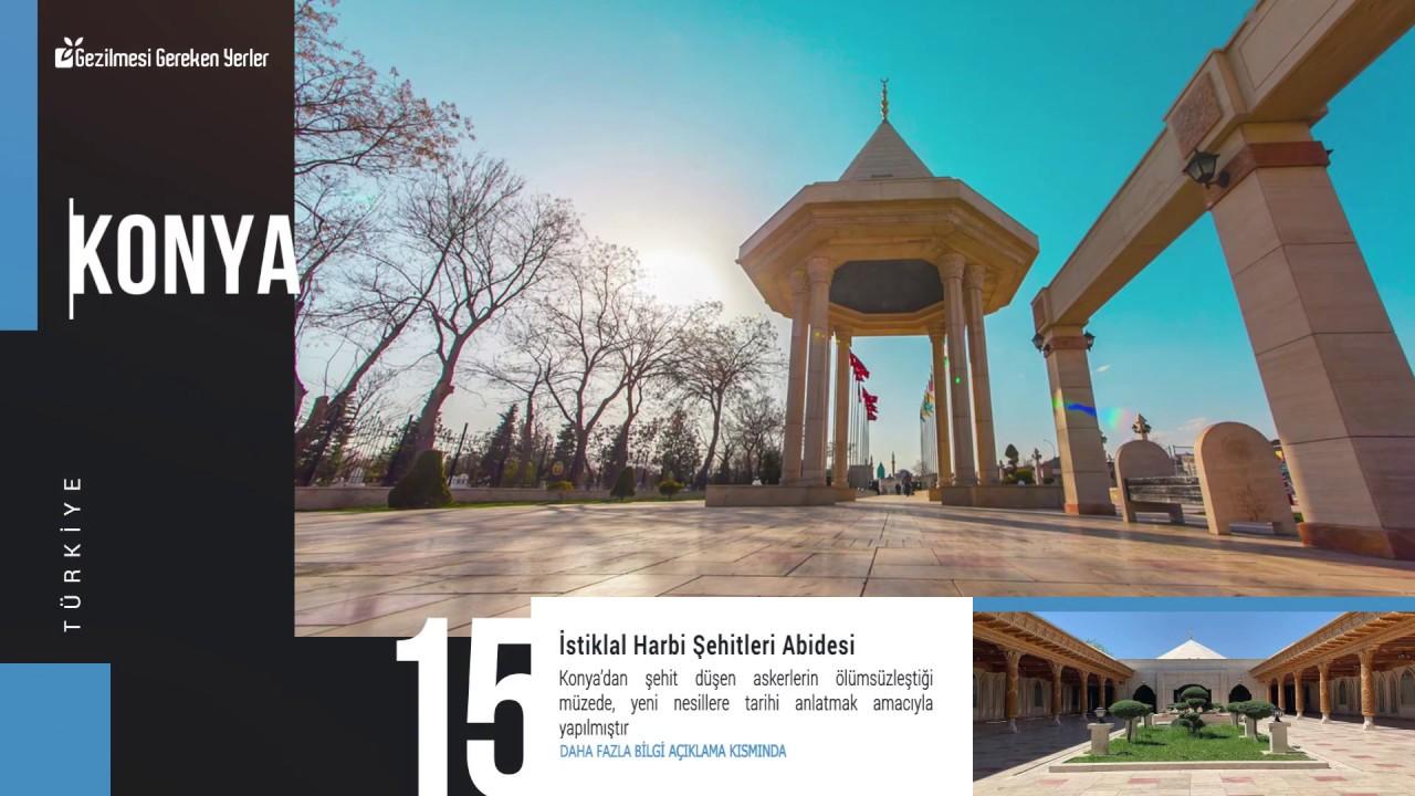 Konya'da Gezilecek Yerler | En İyi 20 Yer