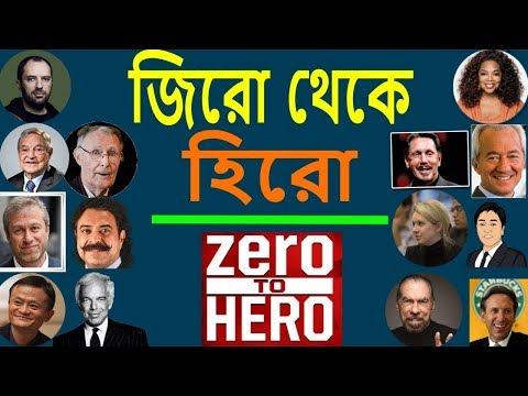 শূন্য থেকে বিশ্বের সেরা ধনী যারা | Zero To Hero | Bangla Motivational Video