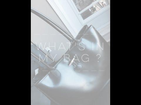 What's in my Bag ? feat Longchamp Roseau Shoulder Bag //