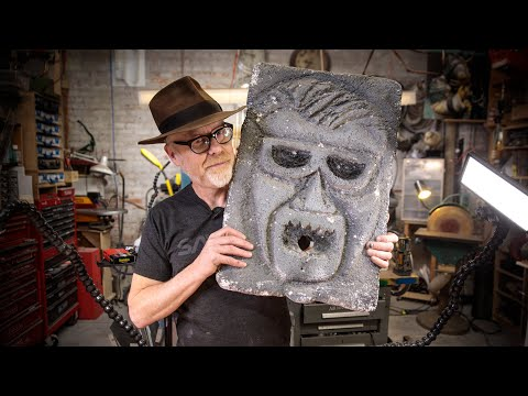 Inside Adam Savage's Cave: Mystery Stone Head from MythBusters