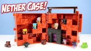 Minecraft Mini-Figure Nether World Collector Case with Portal thumbnail