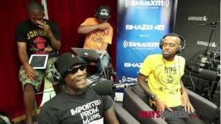 Ski Beatz, Dead Prez, Fashawn, Chris Webby, and Supa Star Torch Cypher on #SwayInTheMorning