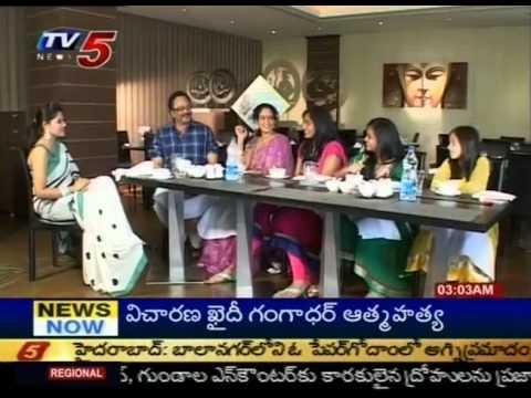 Rebel Star Krishnam Raju In Celebrity Kitchen (TV5) - Part 01