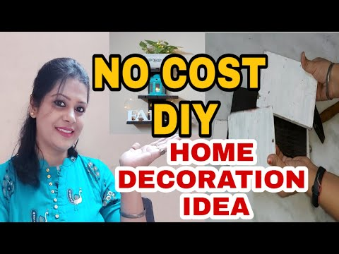 DIY Home Decoration Ideas | Best Out Of Waste Idea | Wall Shelf For Home Decoration | Pratishtha DIY