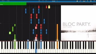 Bloc Party: Banquet - Piano Tutorial (Full Band)