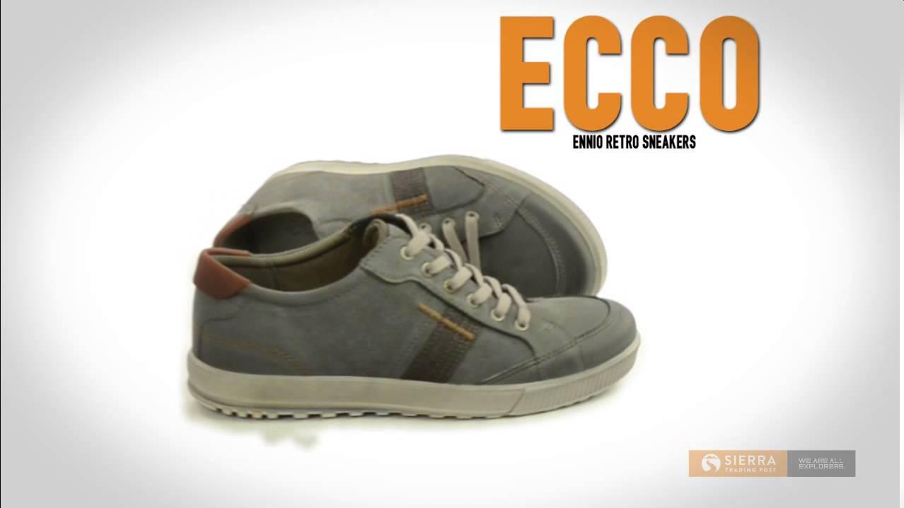 ECCO Ennio Retro Sneakers (For Men