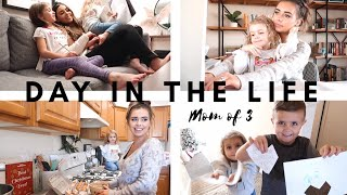 DAY IN THE LIFE OF A MOM OF 3 // TYPICAL WEEK DAY