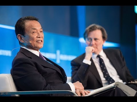 A Conversation with Japanese Finance Minister Taro Aso
