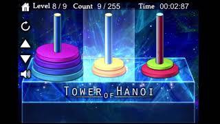 하노이의탑 8단 1분22초