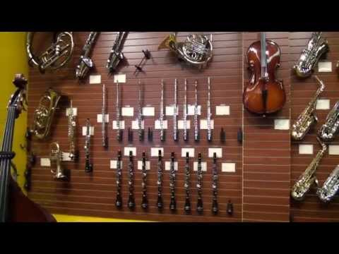 Band & Ochestra instruments at Blues Angel Music Store