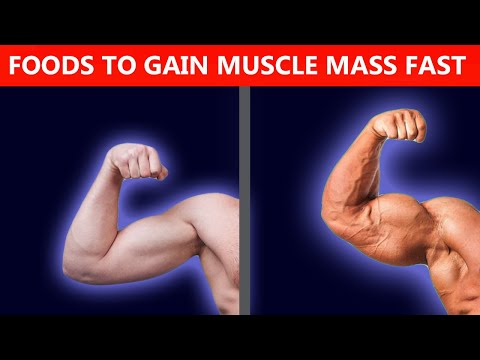 Best Foods To Build Muscle Mass Fast (Sport Nutrition)