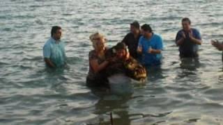 bautizos de noemi reyes y belen jimmy y reme en palamos 16 08 2010