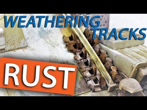 Tutorial: Painting & Weathering Tracks for Model Tanks - RUST
