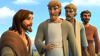 """Superbook """"Jesus Feeds the Hungry"""" - The Salvation Poem"""