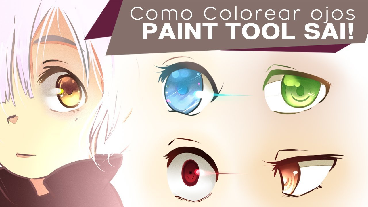 ✎COMO COLOREAR OJOS EN SAI   YouTube