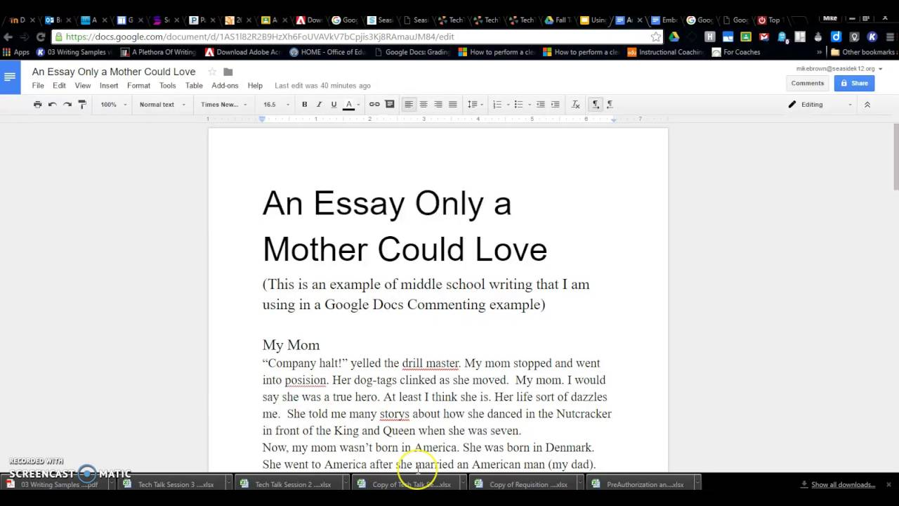 how to use google docs preferences to quickly add comments to  how to use google docs preferences to quickly add comments to student papers