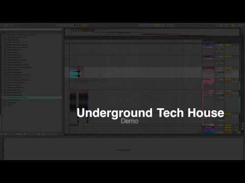 Underground Tech House Sample Packs-Easy way for building Tech House Tracks