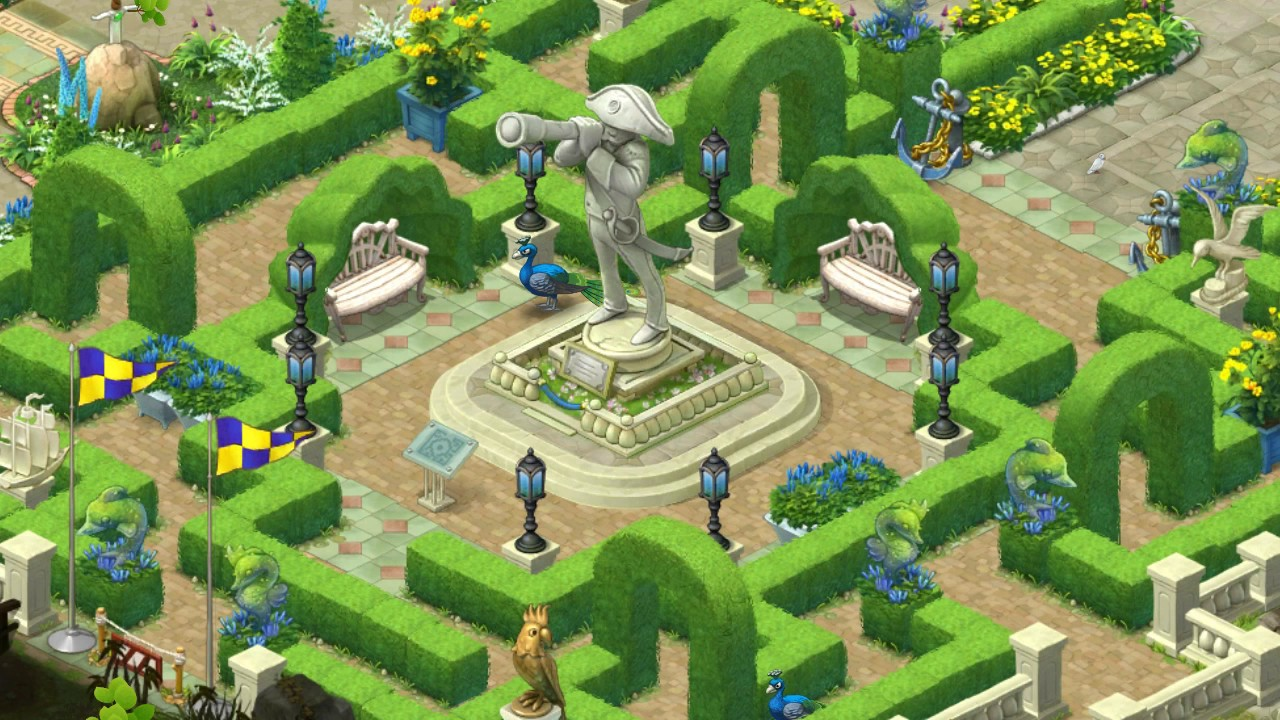 Nice Gardenscapes Level 860