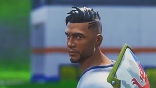 A MF SOCCER SKIN PLAYING FORTNITE