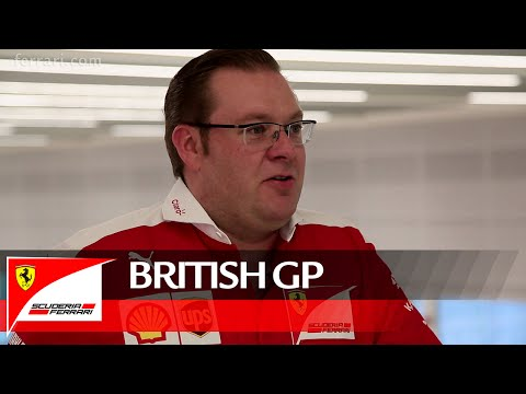 The British GP with David Greenwood - Scuderia Ferrari 2016