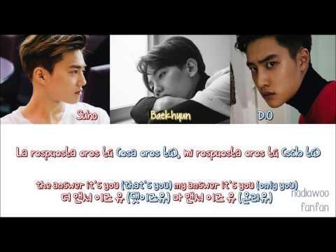 EXO - My Answer Is You (Korean Version) [ Sub Español /Romanizacion/Hangul] (Color Coded)