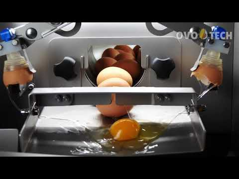 RZ-0 Egg Breaker With Egg Whites From Yolks Separation