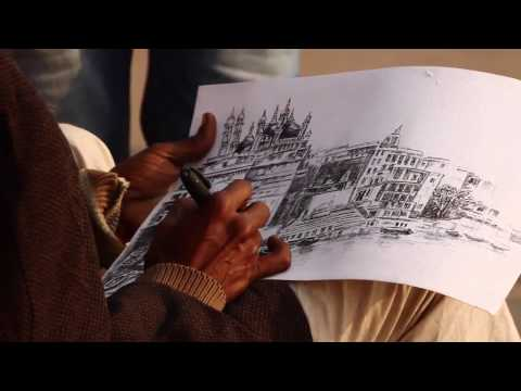Live Painting and open Exhibition on Ganga Ghat Varanasi