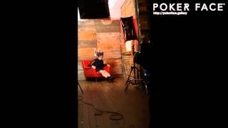 "iPhone App ""POKER FACE"" is a digital photo magazine to enjoy the ex..."