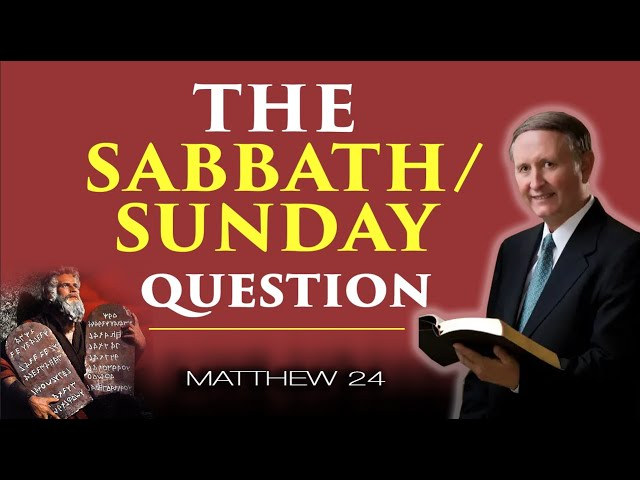 The Sabbath/Sunday Question | Pastor Stephen Bohr